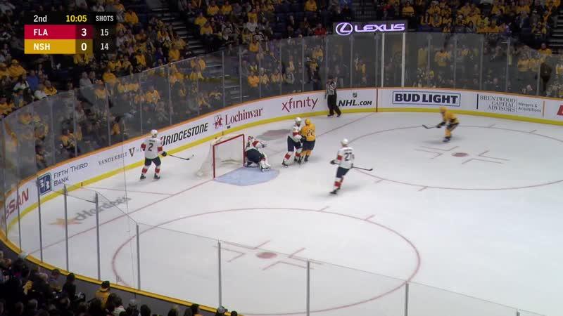 NHL 2019-01-19 RS Florida Panthers @Nashville Predators. Fox Florida