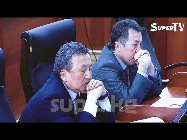 Исхак Масалиев Алмазбек Атамбаевди кол тийбестигинен ажыратууну сунуштады.