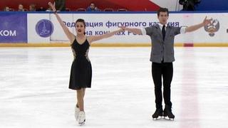 Елизавета Худайбердиева и Никита Назаров. Первенство России 2019. ПТ