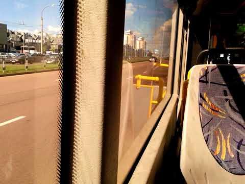 Автобус Минска МАЗ-215,гос.№ АН 8675-7, марш.8 (09.08.2018)