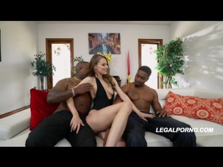 Jillian Janson - First BBC DP This Girl is a Superstar and She Took it Like One