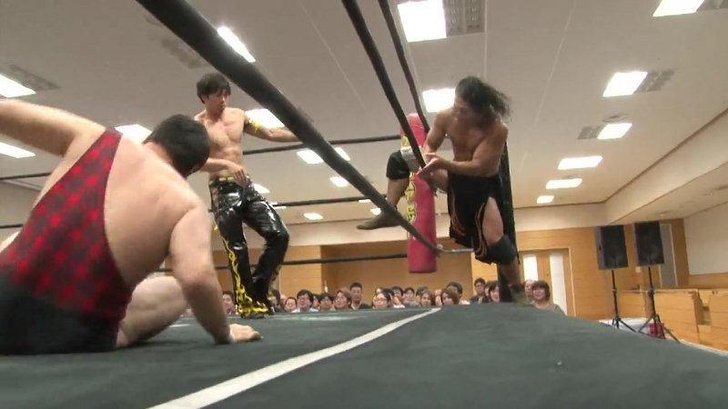 [My1] DDT Road To Ryogoku 2018 Antonio Honda Kazusada Higuchi vs. Shuten Doji (KUDO Masahiro Takanashi)