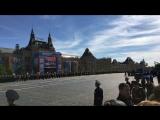 Москва меняется Live- Парад Победы