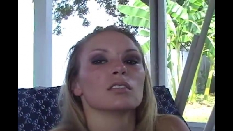 Sexy blond girl coughing.mp4