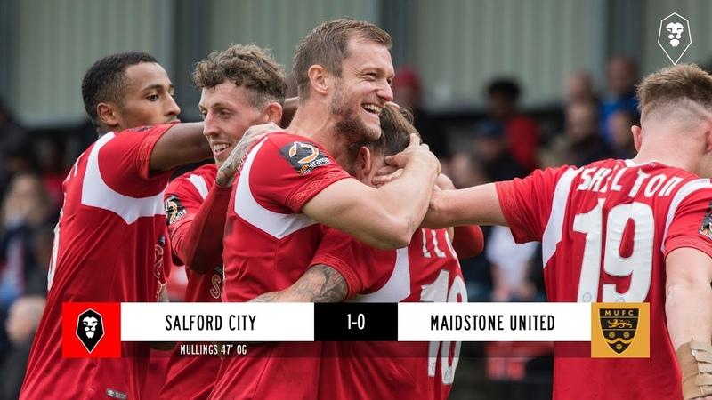 Salford City 1-0 Maidstone United - National League 08/09/18
