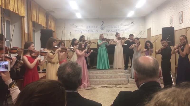 Дворжак А Славянский танец Думка