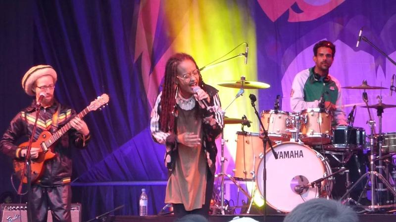 Xana Romeo live at Ruhr Reggae Summer May 2016 in Dortmund