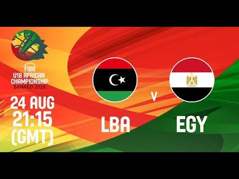Libya v Egypt - Full Game - FIBA U18 African Championship 2018