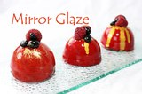 Shiny Mirror Glaze Recipe~ vegetarian version ~ NO GELATIN!