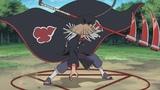 Наруто Саске и Сакура против Хидана Полный Бой