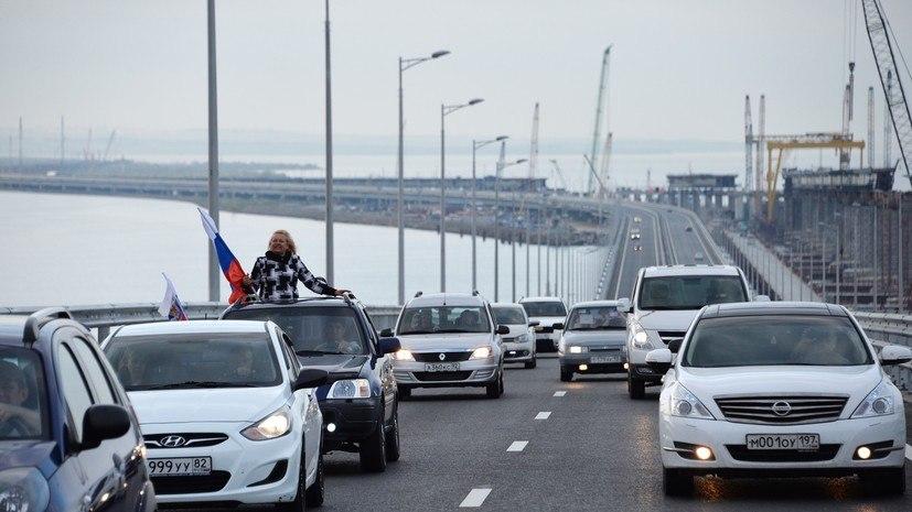 Глава Крыма прокомментировал заявления Госдепа США по Крымскому мосту
