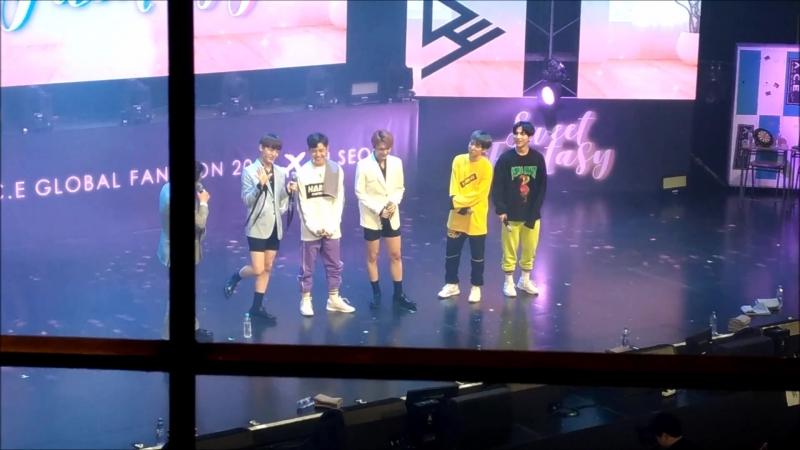 FANCAM | 17.03.18 | A.C.E - Talking 2 @ Fan-con 2018 'Sweet Fantasy' in Seoul