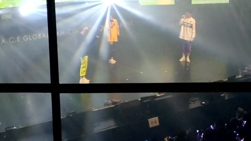 FANCAM 17 03 18 A C E See You Again LMLYD Call of the ambulance Make it nasty @ Fan con 2018 'Sweet Fantasy' in Seoul