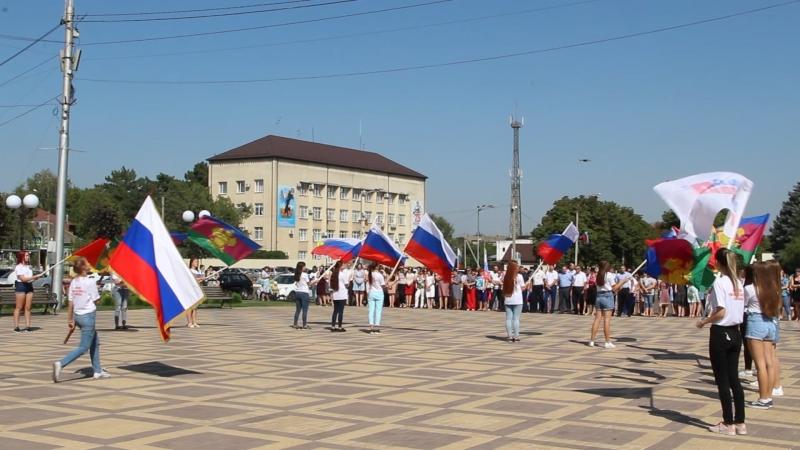 22 августа 2018 г. День Российского флага в ст. Тбилисской