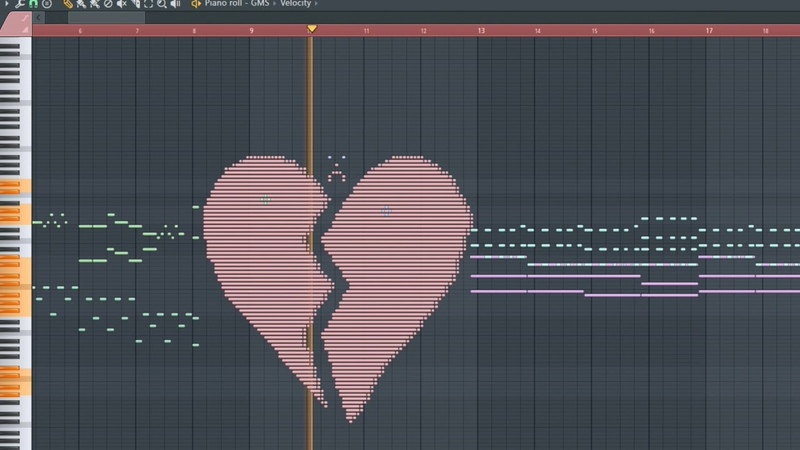 Send this to your crush with no context - MIDI Art