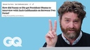 Zach Galifianakis Goes Undercover on Reddit, YouTube and Twitter | Actually Me | GQ