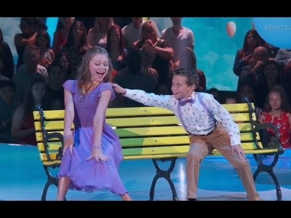 Tripp Palin Johnston Hailey Bills - Dancing With The Stars Juniors (DWTS Juniors) Episode 1