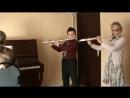Дуэт Глухов Максим, Рыкова Виктория - Итальянская народная песня «Санта Лючия» в обработке Ю. Оленчика