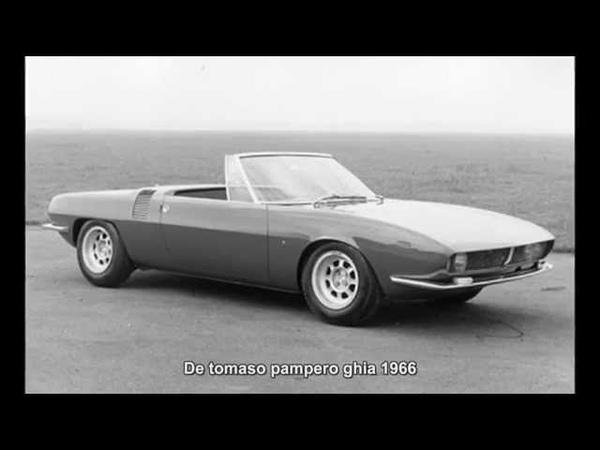 1857. De tomaso pampero ghia 1966 (Prototype Car)