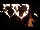 Незабываемый свадебный танец Николая и Юлия вместе с Пиромания