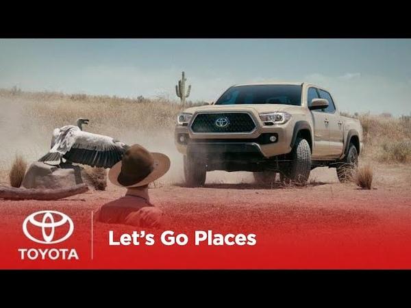 Lets Go Places Tough as Chuck | Toyota