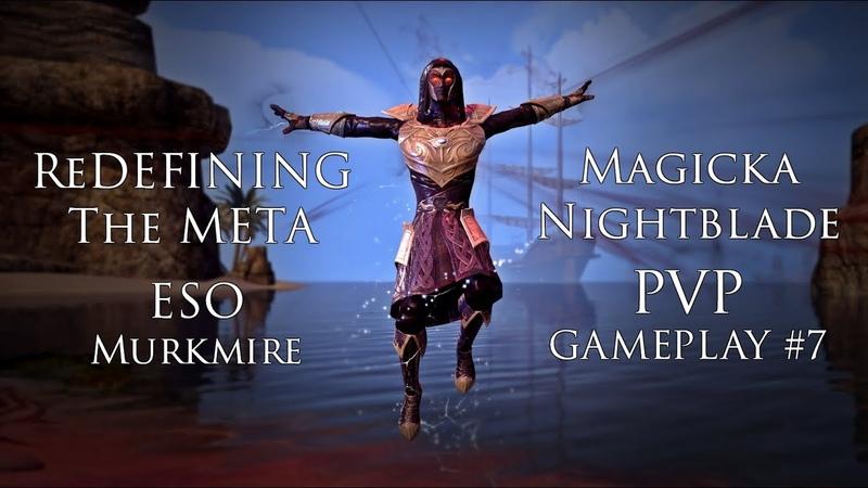 Redefining the Meta | Magicka Nightblade PVP Gameplay 8 | ESO Wolfhunter