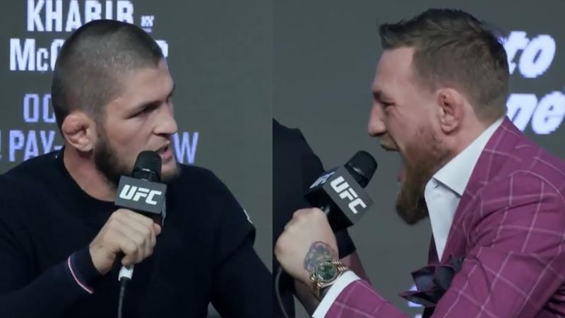 Хабиб - МакГрегор UFC 229 Press Conference на Русском🔥🔥🔥🔥