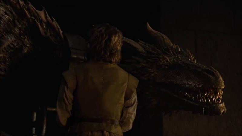 Тирион освобождает драконов 6с 2