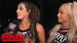 Sarah Logan goes to war with The War Goddess Raw Exclusive, July 16, 2018