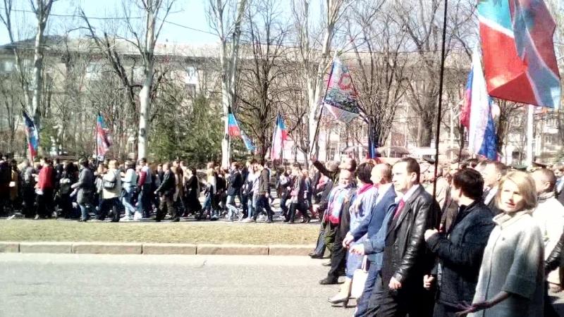 День провозглашения ДНР 7 апреля 2018