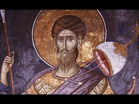 Церковный календарь 21 февраля 2018г. Великомученик Феодор Стратилат