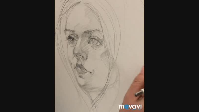 Портрет с натуры mp4