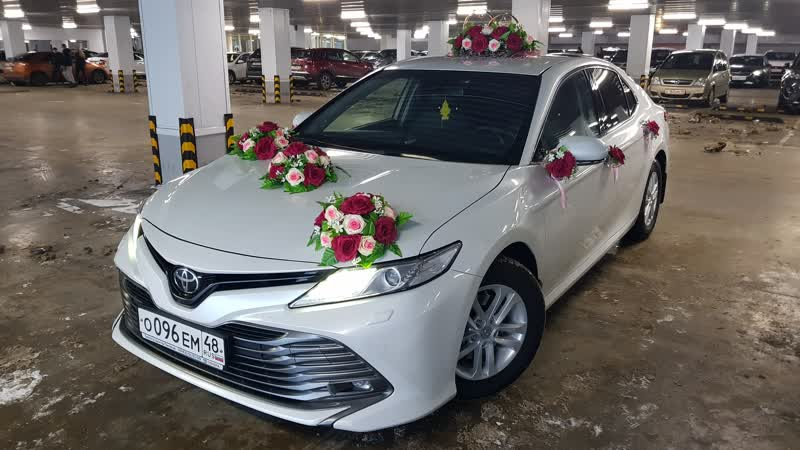 Toyota Camry New V70 Свадебный День Липецк ®