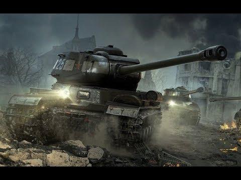 World Of Tanks Blitz. ИС-2 (1945). Воин, Рэдли и 5 труппов.