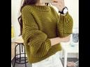 Модные Пуловеры для Женщин Спицами 2019 Trendy Pullovers for Women Knitting