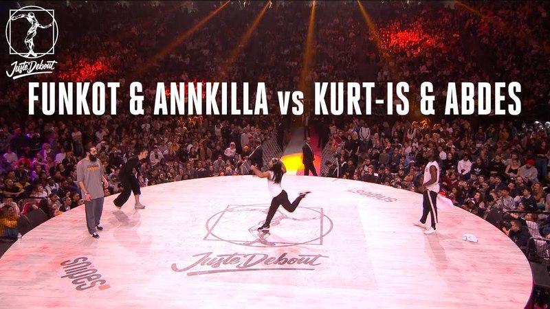 House dance battle : Kurt-is Abdes vs Funkot Annkilla | Danceproject.info