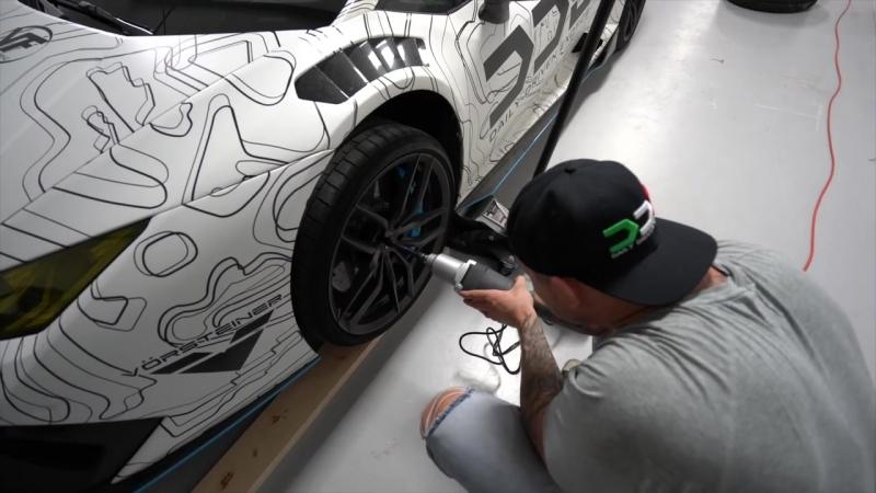 F1 Style Supercharged Lamborghini Huracan w_ VF Exhaust