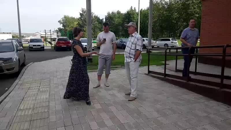Собрание на Вильского 18ж. Встреча с УК Озерный