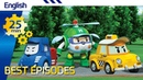 Robocar Poli | Best episodes (English) (25min) | Kids animation