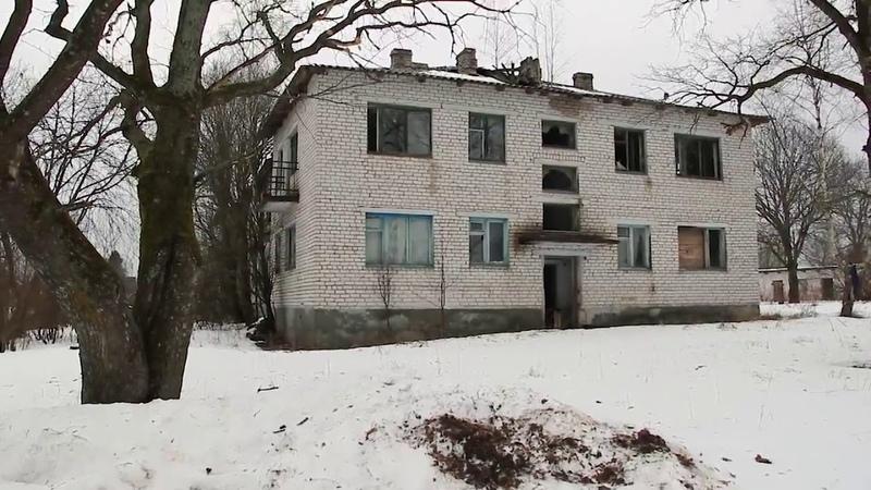 Псковская обл., Пустошкинский р-н, д. Чурилово. Разрушенное.