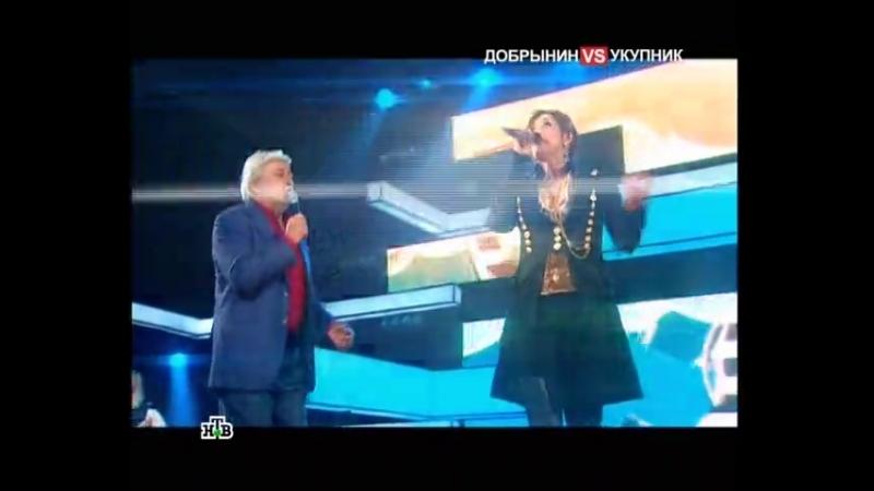 Жасмин и Вячеслав Добрынин - На теплоходе музыка играет (НТВ: Музыкальный ринг)