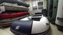 Лодка гладиатор B 330 AL распаковка