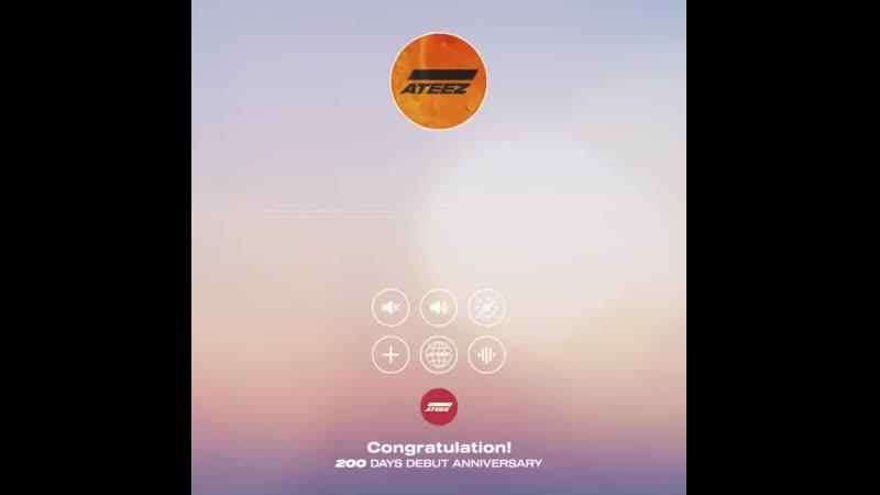 [] ATEEZ DEBUT 200 DAYS -   - 에이티즈 데뷔 200일 기념! - 산의 음성 메세지가 도착했습니다 -   - ATEEZ 에이티즈 ATEEZ_.mp4
