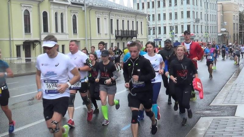 Абсолют Московский марафон 42 2 км 2018 Видео Логинова Ольга
