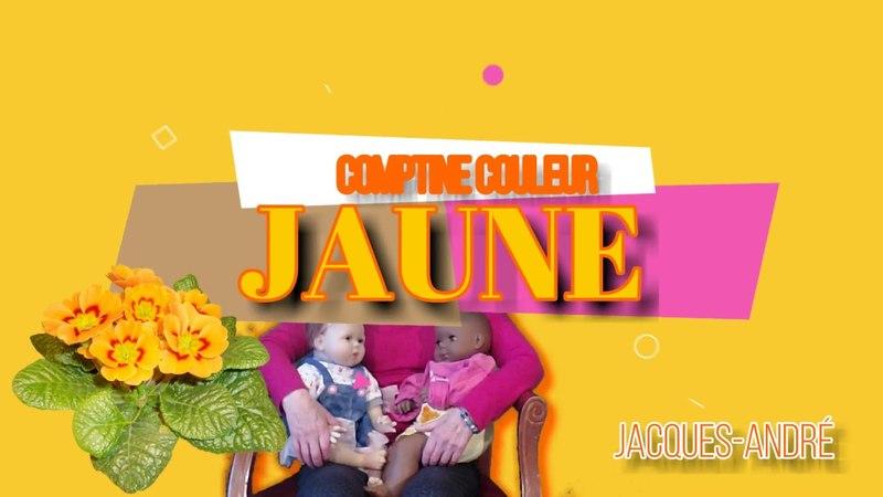 Jaune - Comptine d'une seule couleur, Jacques-André paroles et musique