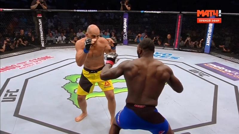 Нокаут за 13 секунд от Энтони Джонсона в бою с Гловером Тейшейрой Anthony Johnson vs Glover Teixeira