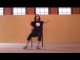 Ballroom Tango _ Chair Dancing Routine