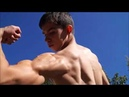 Ripped Young Bodybuilder Massive Muscles