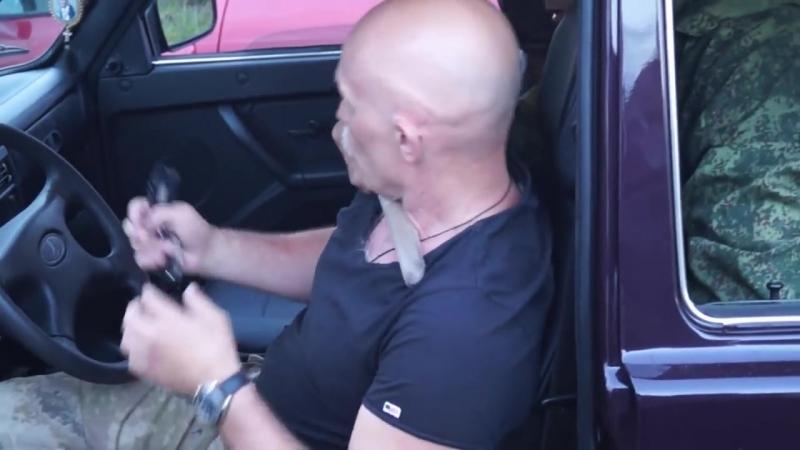 САО.Стрела. Самооборона в автомобиле. Нож сзади