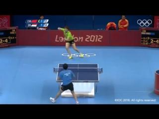 Настольный теннис, Лондон-2012